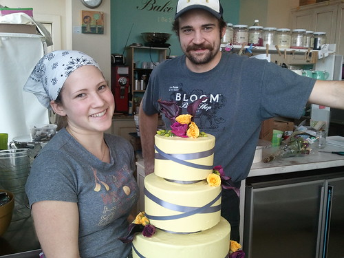 Modern Wedding Cake via Bloom Bake Shop