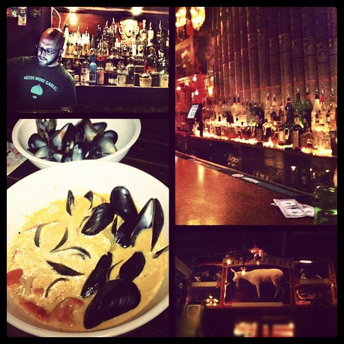 198: Belgian beer and mussels, then Red Palace for Balkan punk.