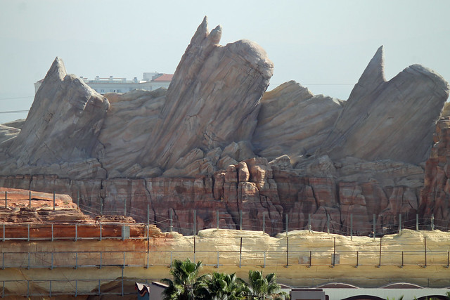 Progress on Cars Land - 2/1/12