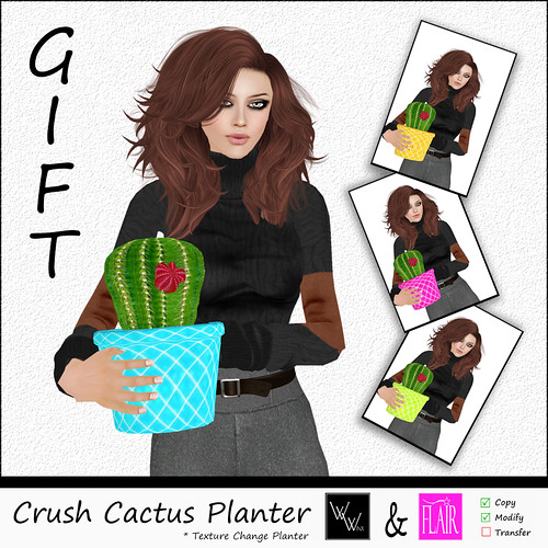WWinx & Flair - Crush Planter AD