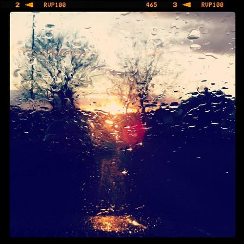 It's #raining again. On the #schoolrun
