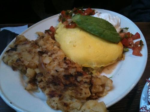 """Omelette """"My Soul"""" w/ Steak"""