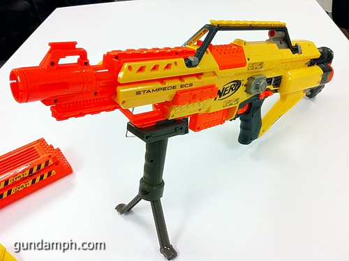 NERF Sale 50% Off Stampede Raider Recon Unboxing Review (43)