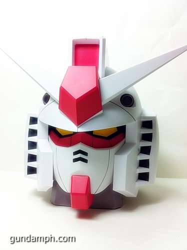 BIG RX-78-2 Gundam Head Coin Bank 30th Anniversary Edition 7-11 (23)