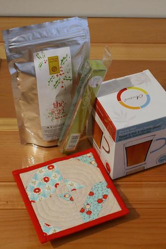 Christmas Gift Sewing - Mug Rug