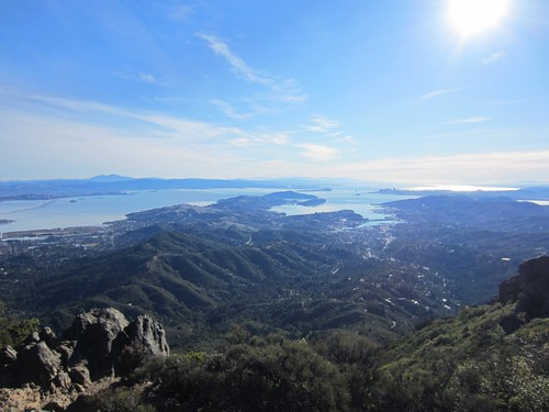 San Francisco bay from Mt Tam
