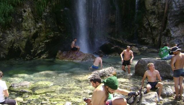 Grunas waterfall