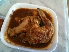 Assam chicken, Daisy's Dream Kitchen, West Coast Road