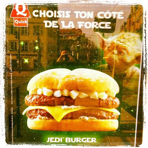 The Jedi burger?