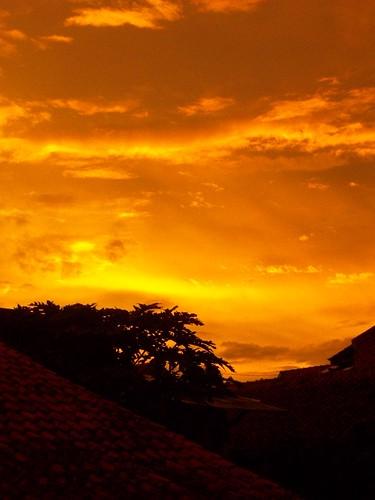 beautiful sunset by brightsightrads