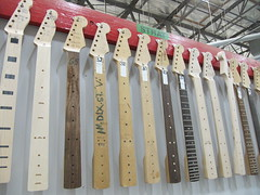 Fender Guitar Factory Strat necks