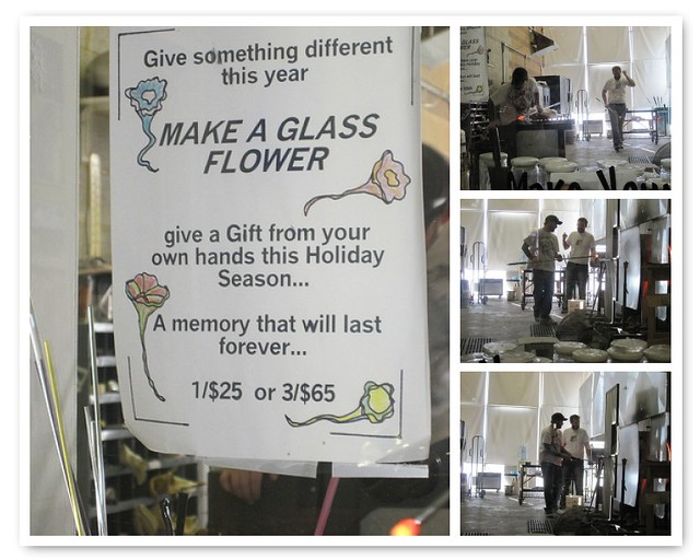 Glass blowing Studio