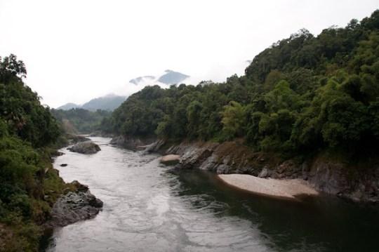 riu de l'himalaia