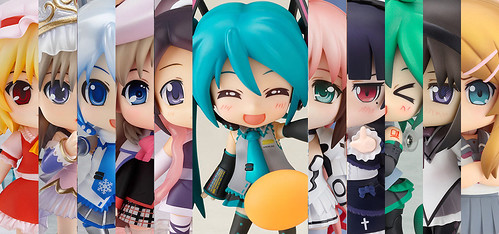 The candidates for 2011's Best Nendoroid
