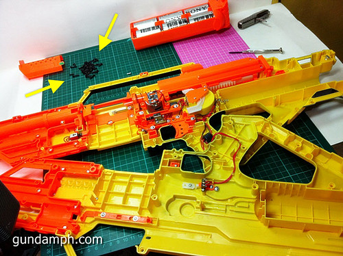 NERF Stampede Basic Modification Attempt (4)