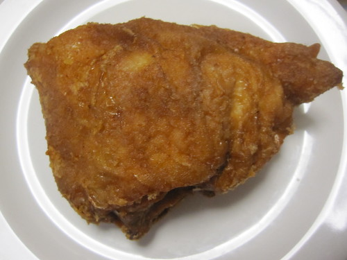 Crumbed chicken thigh