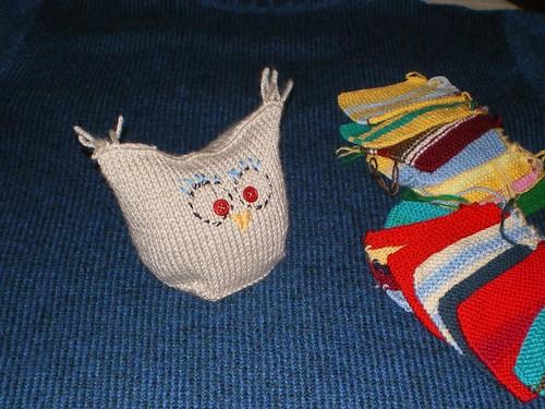 tricot chouette hibou