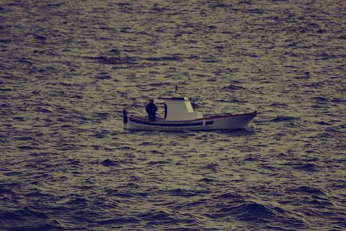into the sea by Rossella Sferlazzo