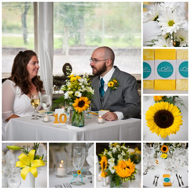 table settings collage