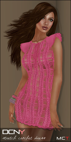 DCNY Panel 17_Stretch Crochet Dress @ The Deck