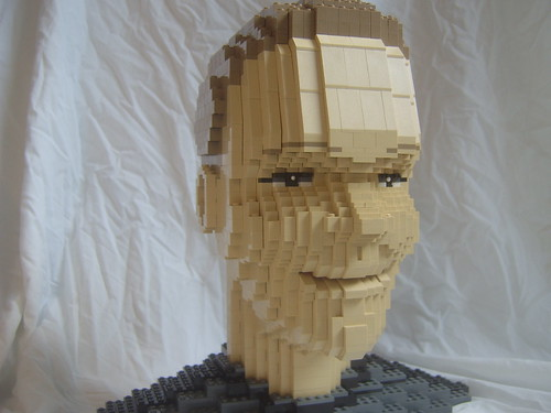 A portrait sculpture by simply sci-fi