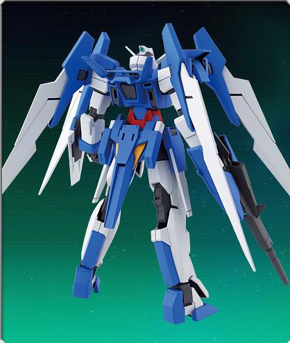 HG 144 Gundam AGE-2 Normal Model Kit Photos (4)
