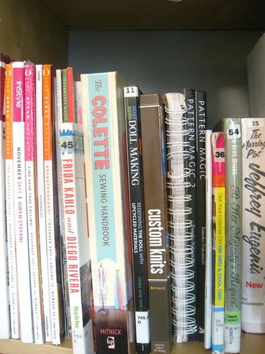 Bookshelf: Craft Books, mostly