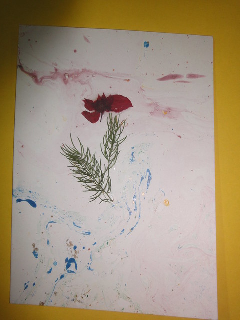 Dried Flower New year Card 5