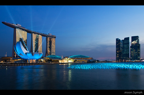 Marina Bay Sands on the Last Day of 2011..