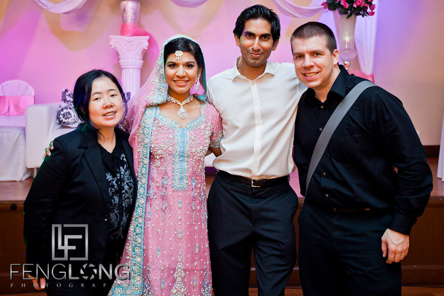 Betty and Zac at Zainab & Farhan's Wedding Day 3 | Valima | 5th Avenue Event Hall | Atlanta Indian Wedding Photographer