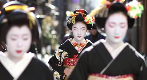geisha / focus / beautiful / maiko / 舞妓 小凛さん