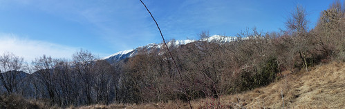 View of MOnte Baldo from Praiscel