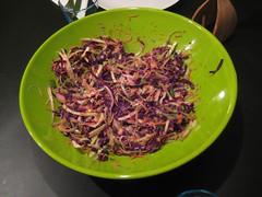 Cabbage salad (coleslaw)
