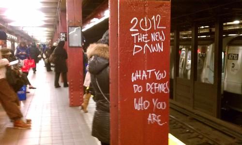 2012: the new dawn