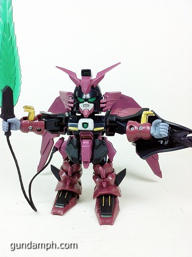 SD Gundam Online Capsule Fighter EPYON Toy Figure Unboxing Review (28)