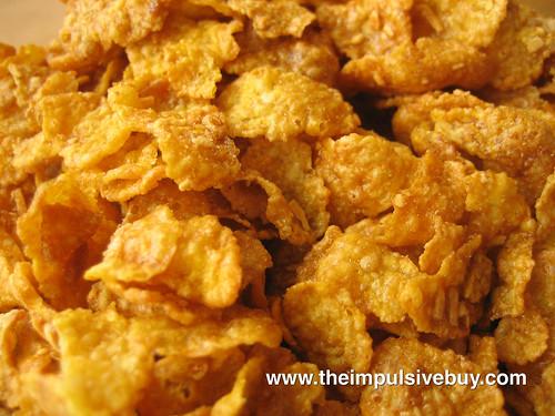 Kellogg's Caramel Nut Crunchy Nut Cereal Closeup
