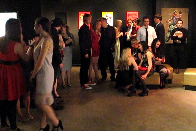 Scene at the ModCloth Post-Holiday Party
