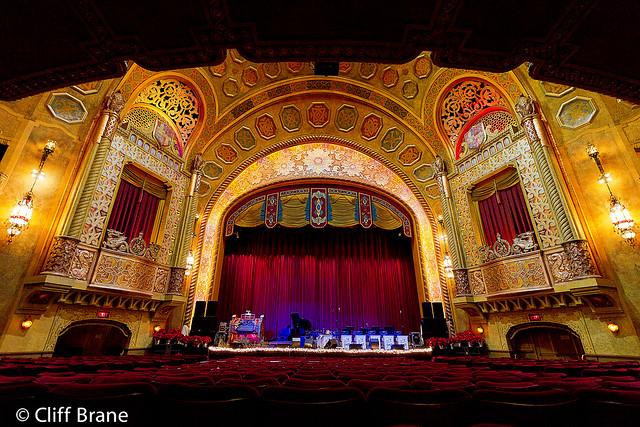 Concert Setup Alabama Theatre 2 Dec 9th - 2011