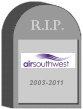 Air Southwest Tombstone
