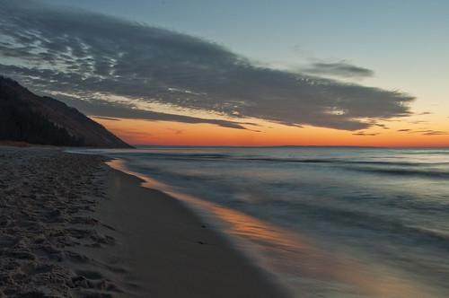 Empire Beach, Mi. 1-11-2012