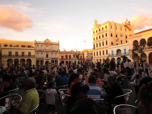 8/1/2012 - Plaza Vieja - Habana Vieja (Havana/Cuba)