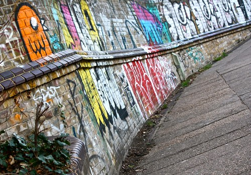 Graffiti Walkway