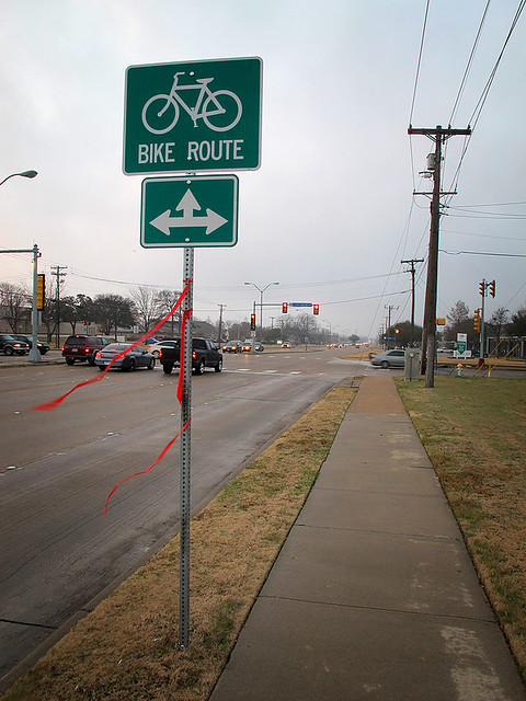 New Bike Signs In Richardson