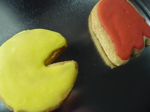 Pacman biscuits