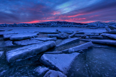 Icy Hot Sunset