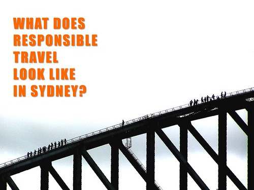 What does responsible travel look like in Sydney?