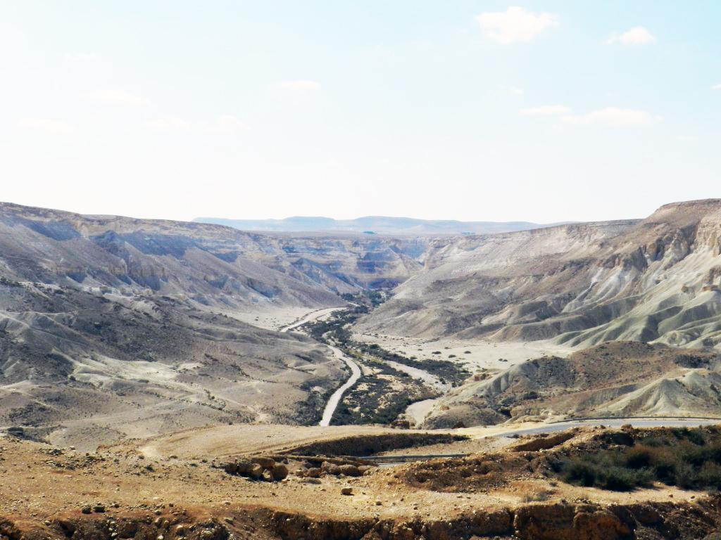 cañón de Ein Avdat Nahal Tzin  Israel 03