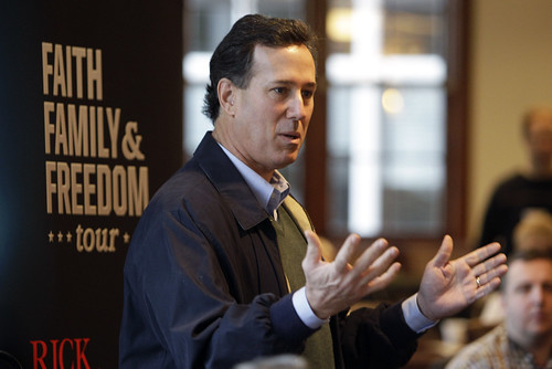 Rick Santorum by westchesterbuzz