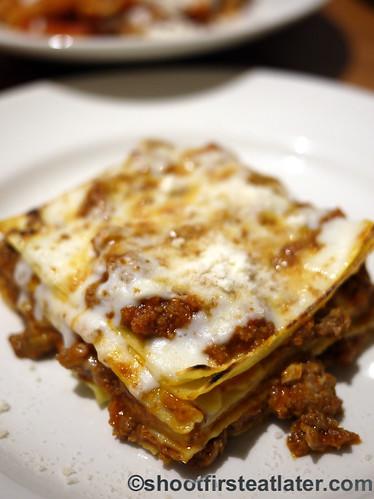 Eataly NYC-La Pizza & La Pasta - Pasta al Forno al Ragu $16