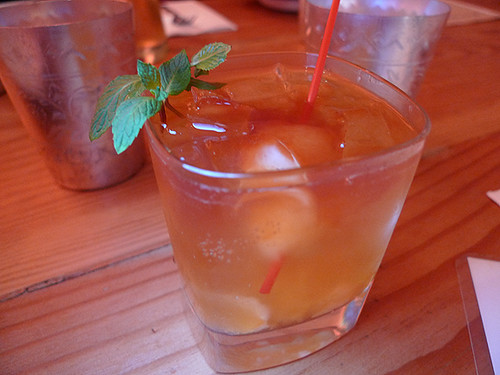 Mekong Old Fashioned at Night + Market